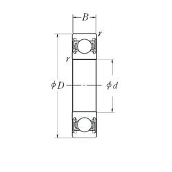 22,2 mm x 56 mm x 21 mm  NTN TM-623/22LLUA/22.2C3/L106Q1 радиальные шарикоподшипники