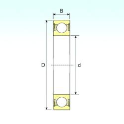 70 mm x 125 mm x 31 mm  ISB 62214-2RS радиальные шарикоподшипники