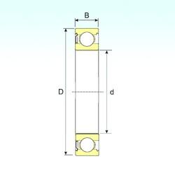 130 mm x 200 mm x 33 mm  ISB 6026-Z радиальные шарикоподшипники
