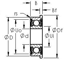 AST SMF126ZZ радиальные шарикоподшипники