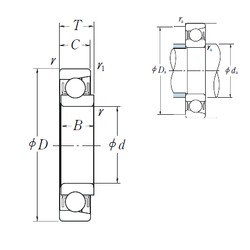 15 mm x 35 mm x 8 mm  NSK E 15 радиальные шарикоподшипники