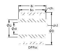 AST DPP6 радиальные шарикоподшипники
