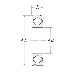 30 mm x 72 mm x 16 mm  TECHMASTER 83A073B радиальные шарикоподшипники