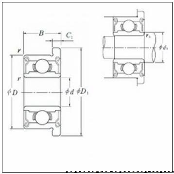 35 mm x 55 mm x 10 mm  FAG HCB71907-E-2RSD-T-P4S радиально-упорные шарикоподшипники