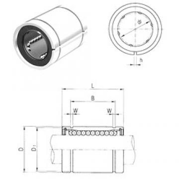 10 mm x 19 mm x 22 mm  Samick LM10AJ линейные подшипники