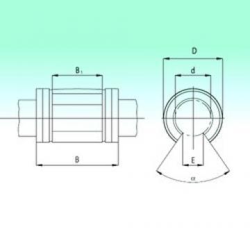 25 mm x 40 mm x 58 mm  NBS KNO2558 линейные подшипники