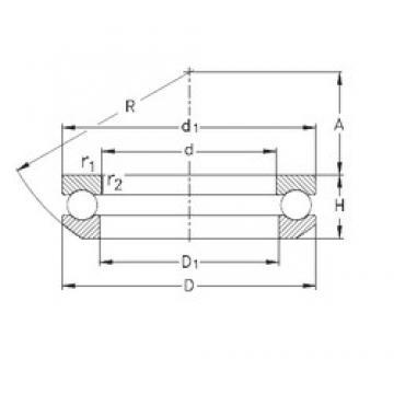 NKE 53216 упорные шарикоподшипники
