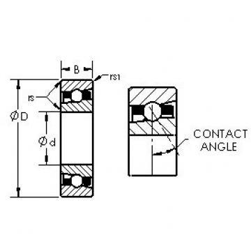 AST H7028AC/HQ1 радиально-упорные шарикоподшипники