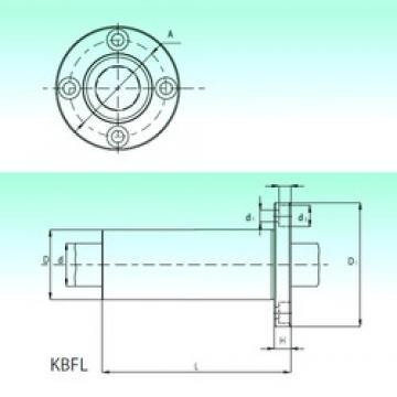 NBS KBFL 25 линейные подшипники
