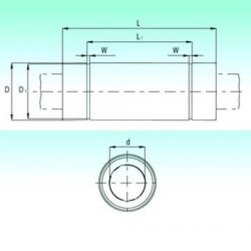 NBS KBL1257-PP линейные подшипники