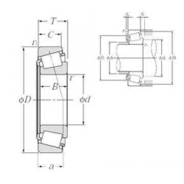 35 mm x 55 mm x 14 mm  NTN 32907XU конические роликовые подшипники