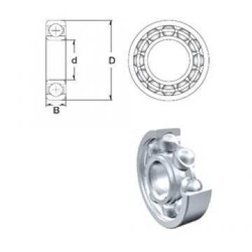 900 mm x 1090 mm x 85 mm  ZEN 618/900 радиальные шарикоподшипники