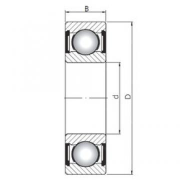 60 mm x 78 mm x 10 mm  ISO 61812 ZZ радиальные шарикоподшипники
