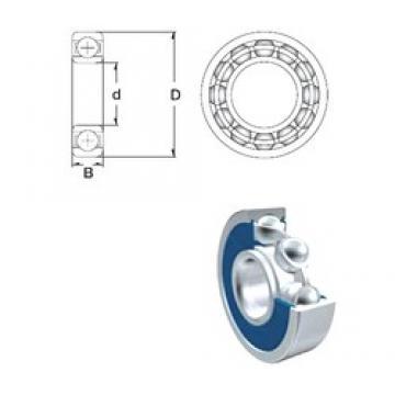 15 mm x 32 mm x 8 mm  ZEN S16002-2RS радиальные шарикоподшипники