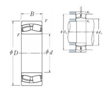150 mm x 250 mm x 100 mm  NSK 24130CE4 сферические роликоподшипники