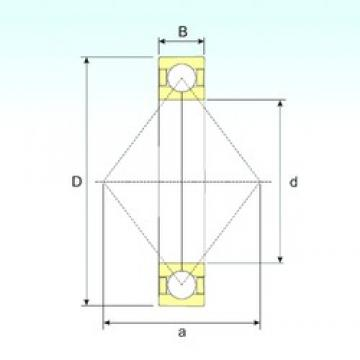 15 mm x 35 mm x 11 mm  ISB QJ 202 N2 M радиально-упорные шарикоподшипники