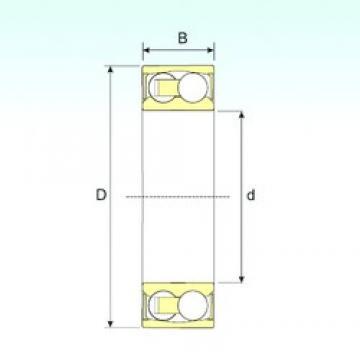 25 mm x 62 mm x 24 mm  ISB 2305-2RSTN9 самоустанавливающиеся шарикоподшипники