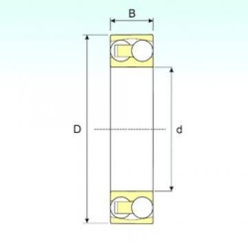 30 mm x 72 mm x 27 mm  ISB 2306 самоустанавливающиеся шарикоподшипники