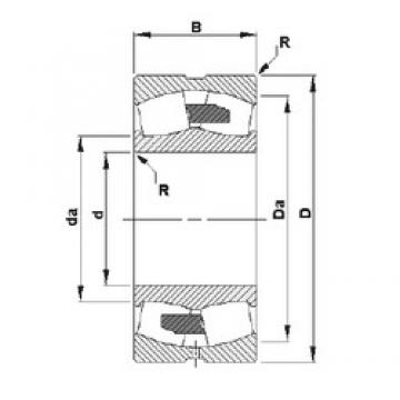45 mm x 100 mm x 36 mm  Timken 22309YM сферические роликоподшипники
