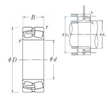 240 mm x 440 mm x 120 mm  NSK 22248CAE4 сферические роликоподшипники