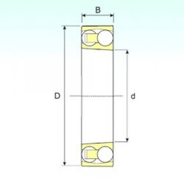 45 mm x 85 mm x 19 mm  ISB 1209 KTN9 самоустанавливающиеся шарикоподшипники