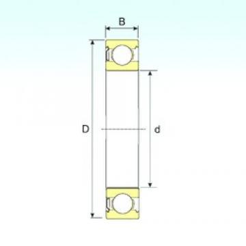 85 mm x 180 mm x 41 mm  ISB 6317-Z радиальные шарикоподшипники