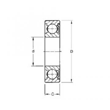 50 mm x 110 mm x 27 mm  Timken 310KD радиальные шарикоподшипники