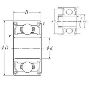 3 mm x 9 mm x 4 mm  ISO MR93ZZ радиальные шарикоподшипники