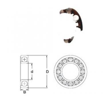 15 mm x 42 mm x 13 mm  ZEN P6302-GB радиальные шарикоподшипники