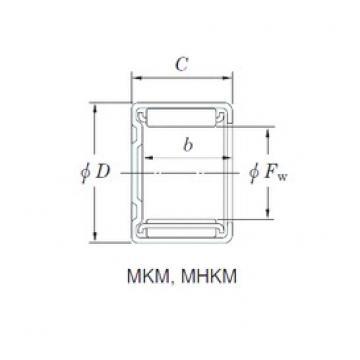 KOYO 30MKM3716 игольчатые подшипники