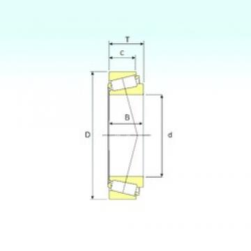 85 mm x 180 mm x 41 mm  ISB 31317 конические роликовые подшипники