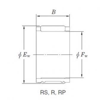 KOYO RF284251A игольчатые подшипники