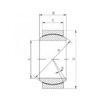 15 mm x 26 mm x 12 mm  ISO GE 015 ECR подшипники скольжения