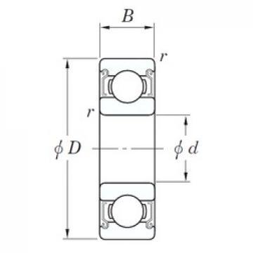 15 mm x 32 mm x 9 mm  KOYO SE 6002 ZZSTPRZ радиальные шарикоподшипники