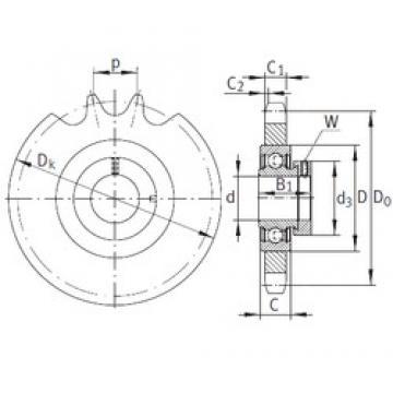 INA KSR15-B0-08-10-16-08 подшипниковые узлы
