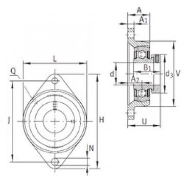 INA PCJT20-N-FA125 подшипниковые узлы