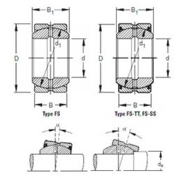 Timken 12FS22 подшипники скольжения