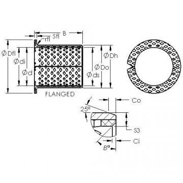 AST ASTB90 F16080 подшипники скольжения