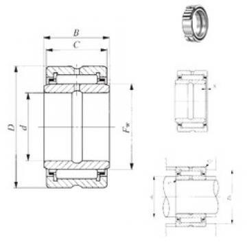82,55 mm x 120,65 mm x 51,05 mm  IKO BRI 527632 игольчатые подшипники