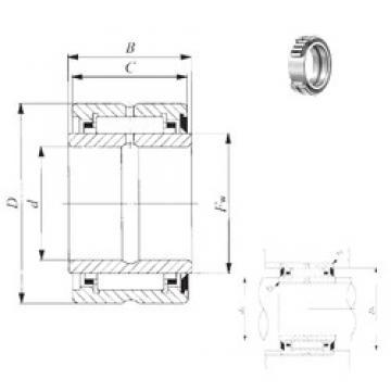 19.05 mm x 38,1 mm x 25,65 mm  IKO BRI 122416 U игольчатые подшипники