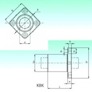 NBS KBK 16-PP линейные подшипники