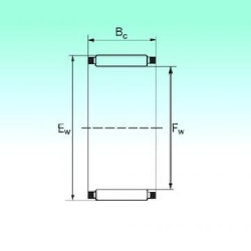 NBS K 16x22x16 игольчатые подшипники