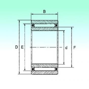 12 mm x 24 mm x 13 mm  NBS NAO 12x24x13 игольчатые подшипники