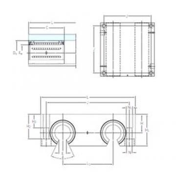 SKF LQCF 20-2LS линейные подшипники