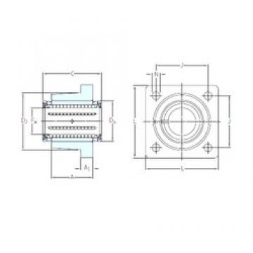 SKF LVCR 20-2LS линейные подшипники