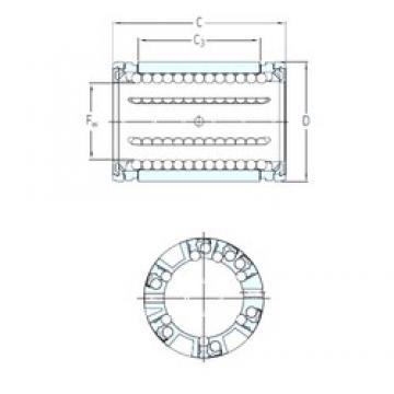 SKF LBCR 16 A линейные подшипники