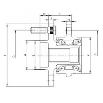 ILJIN IJ123014 радиально-упорные шарикоподшипники