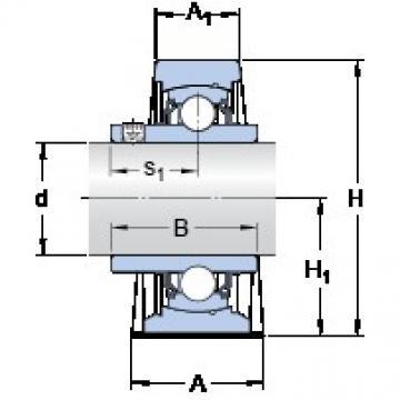 SKF SY 1.3/8 TF/VA228 подшипниковые узлы
