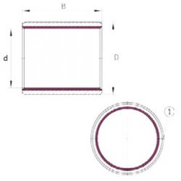 65 mm x 70 mm x 60 mm  INA EGB6560-E40 подшипники скольжения