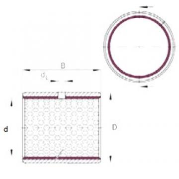 10 mm x 12 mm x 15 mm  INA EGB1015-E50 подшипники скольжения